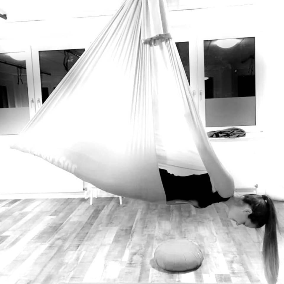Koerperspueren Aerial Yoga