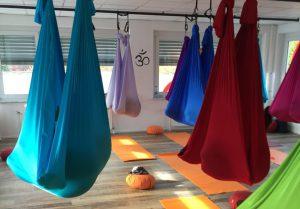 Körperspüren Yogastudio Nürtingen Aerial Yoga